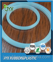 OEM transparent and heat resistant FDA silicone rubber seal gasket ring for LED