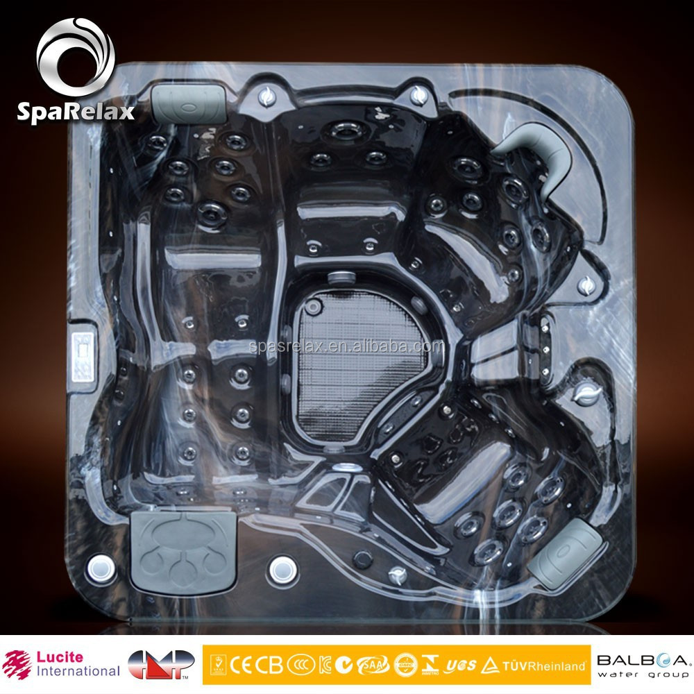 CE ISO9001 Shenzhen Lucite Acrylic Shell Wholesale Whirlpool Outdoor Balboa Hot Tub