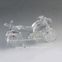 crystal motorcycle model for birthday gift and decoration CB-004