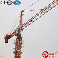 Changli famous brand 60m boom length 8tons/1.0tons tower crane price
