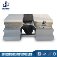 rubber driveway expansion joint cover with aluminum base