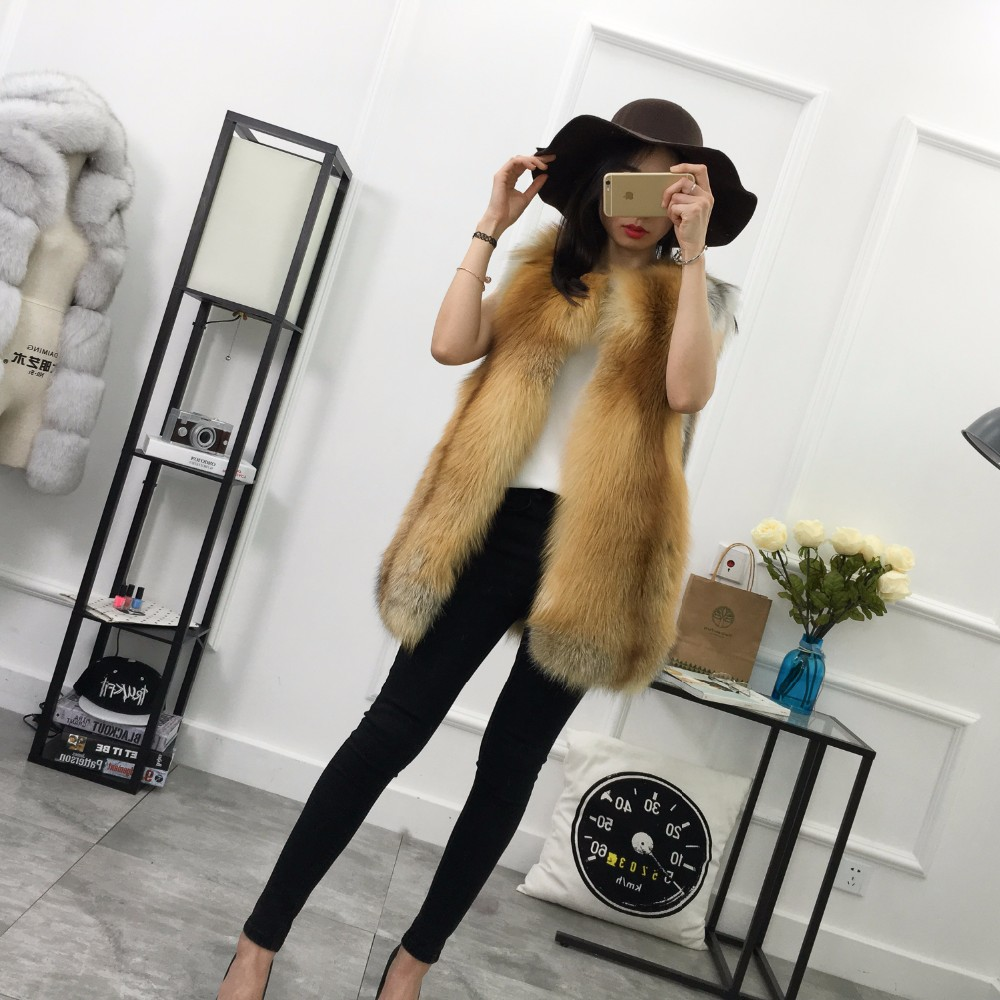 Fashion Design Fur Vest And Coat