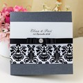 2014 Custom Elegant Decorating Wedding Cards