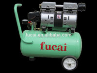 0.75*2kw 1.0*2hp 7bar free oil and silent Chinese brand mini air compressor