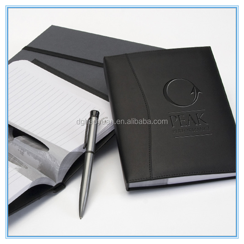 paper/leather hardcover/spiral notebook,paper note book/stationery factory