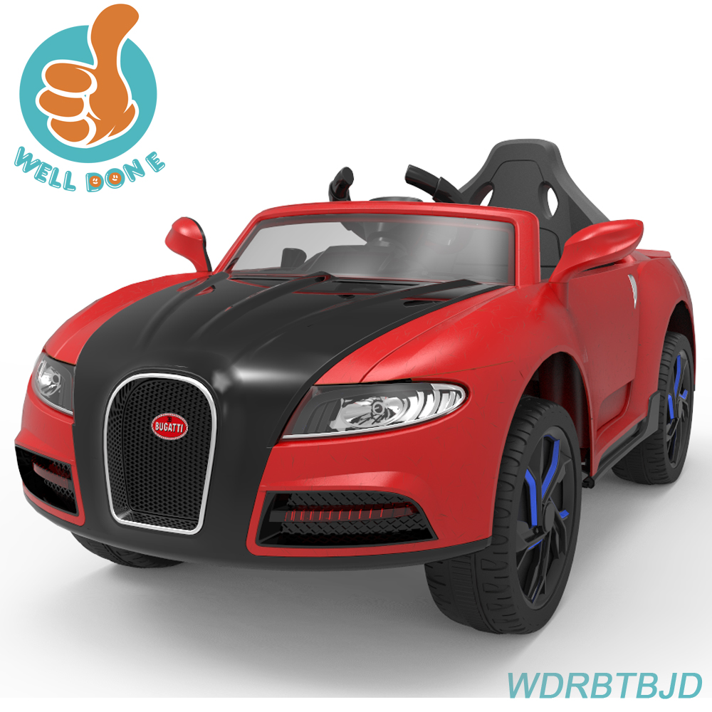 Newest Licensed Bugatti ride on car styling model ,kids electric toy WDRBTBJD