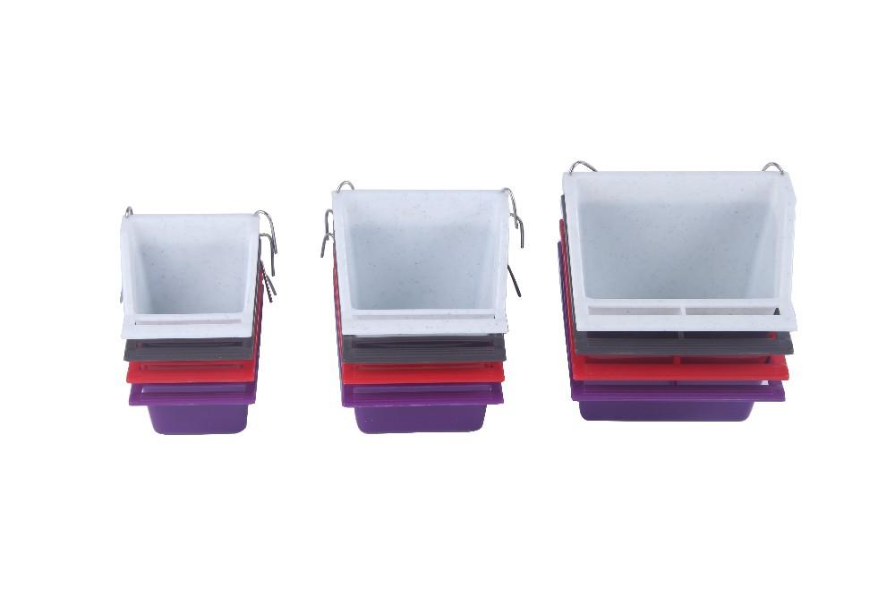 Пользовательские высококачественного пластика кормушка для птиц вешалки