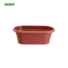 Large flower pots plastic home goods flower pots with Rectangular shape