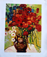 Wholesale stocks paintings flower paintings famous artists