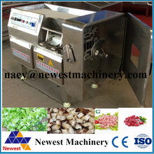 Good performance food cube cut machinery,chicken cutter system,meat cube cut machine on selling