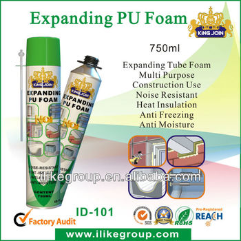 expansion construction pu foam adhesives 750ML