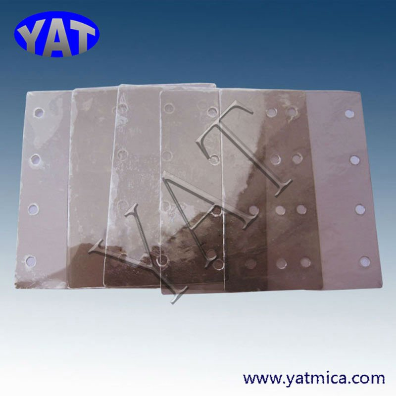 Insulated transparent mica sheet