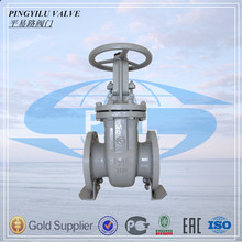 DN50 WCB light and heavy weight gate valve