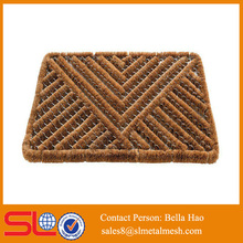 2015 hot sale coir and steel door mat popular in Europe