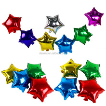 DEMIZXX1065 Wholesale Custom Foil Material Different Colors Star Shape 18 Inches Free Shipping Party Use Balloon Gifts