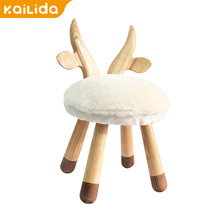 Top selling products in alibaba stool wood adjustable upholstered wooden round luggage parts