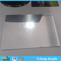 PE film packed silver mirror acrylic/plexiglass sheets