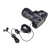 Yelangu Mobile Phone Condenser Lavalier Clip Microphone For Iphone Canon Video Camera Android Phone
