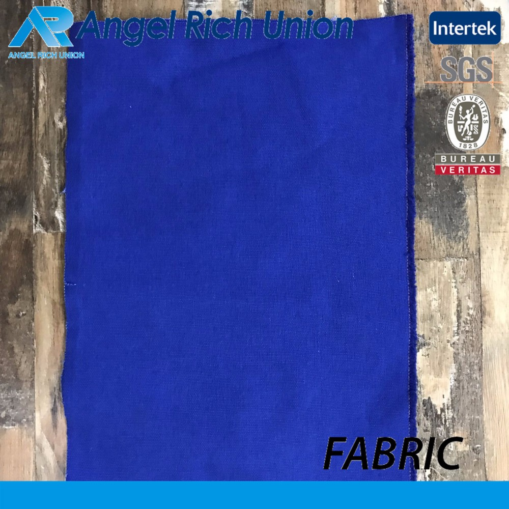 Cost effective test approve cotton dyed canvas fabric for bags vamp