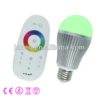 WIFI LED Color-Temp Dimmable Bulb, one set including one remote and two bulbs