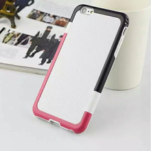 New Design 2in1 Silicon+PC Back Cover Case For Iphone6