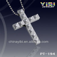 Religious Cross Design Tungsten Pendant,Reasonable Price Tungsten Jewelry Factory