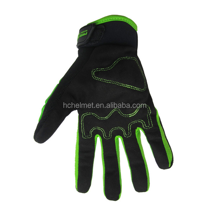 RIGWARL Protective Leather Black Auto Racing Pro Rider Motorcycle Gloves for Cycling Sports With OEM Service