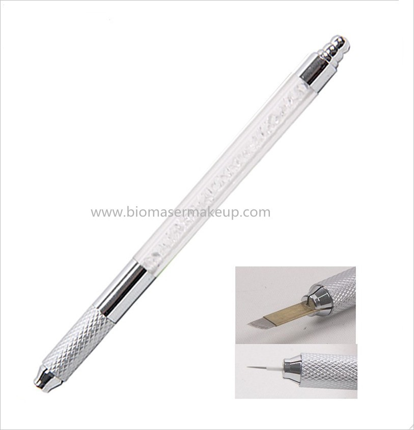 Two function permanent makeup manual tattoo microblading pen