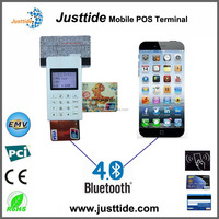 Justtide IOS & Android OS Smartphone Bluetooth Card Reader