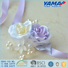 Pouplar ribbon flower decorative artificial flower garland in wedding celebrate activity