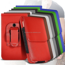 New belt clip pouch holster magnetic mobile phone flip leather case cover for Sony Xperia M5