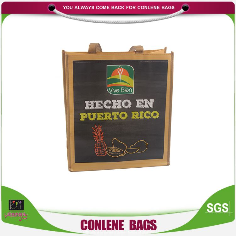 Best selling different types 55*30*30cm seed food package portable pp non woven bag