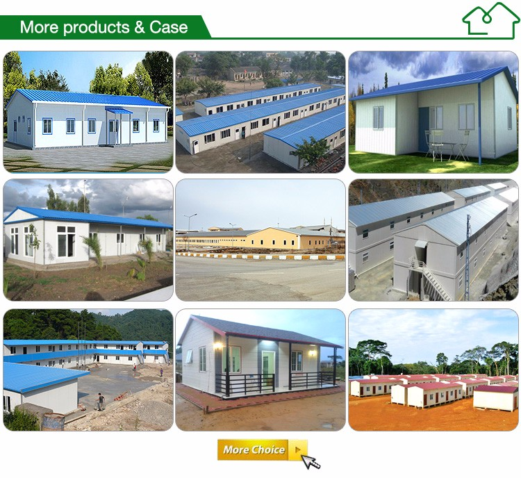 Light Steel Structure Low Cost Prefab Concrete Houses Kit
