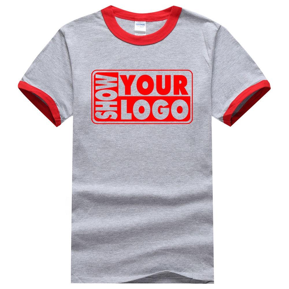Free Shipping Custom T Shirt Printing High Quality 100 Cotton