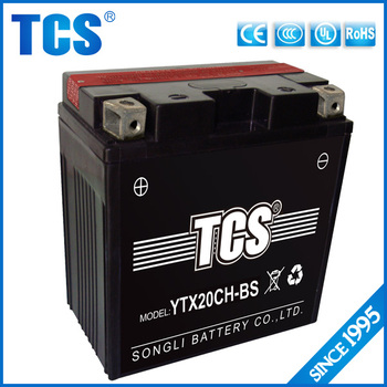 Ytx20ch Battery Powered Toy Boat Motor 12v20ah Battery