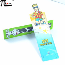 Guangzhou factory manufacture die cut crafts flexible pp/pvc ruler