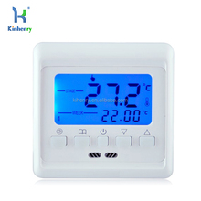 HT08 Digital Display Weekly Programmable Floor Heating Temperature Controller