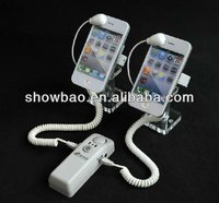 2ports Cell phone Security Display system /Alarm stand