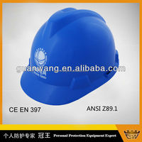 2015 hot sale ABS V type construction Safety Helmet