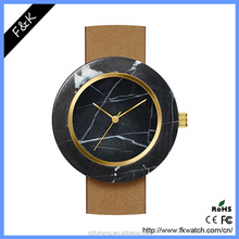 Japan movement ceramic case dome sapphire crystal watch glass