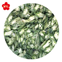 Chinese new crop iqf frozen okra cut with best price