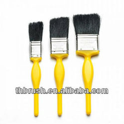 High quality cheap paint brush with plastic paint brush covers