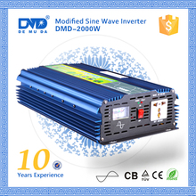 High Efficiency 2000W solar photovoltaic 48vdc-220vac portable power inverter