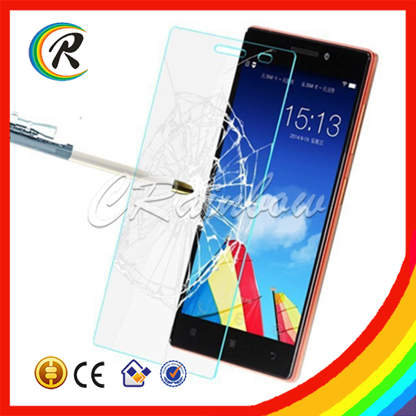 Manufacturer clear tempered glass for Lenovo A856 glass protector