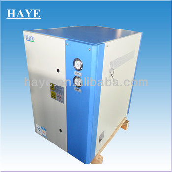 Water Cooled Chiller Freezer