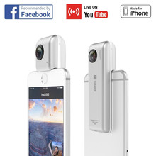 External Camera for Smart Mobile Phone Support iPhone USB connection , Digital VR Camera Fisheye Lens
