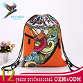 Polyester heat transfer sublimation custom high school trendy backpack for girl's