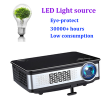 Sample in stocks fast delivery portable video lcd led projector