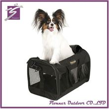 Custom design available safe travel bike pet carrier tote bag