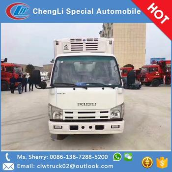 2017 Most Popular I SUZU refrigerated truck for sale in Congo